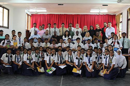 class xi students